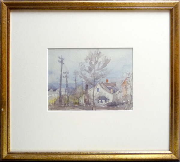 2343 - Our Home in Rossdale by Llewellyn Petley-Jones (1908-1986)