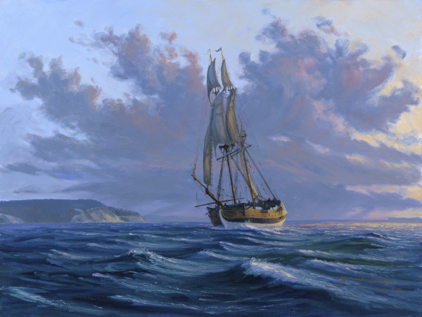 JH 1409 - Out of Admiralty Inlet by John Horton (FCA, CSMA)