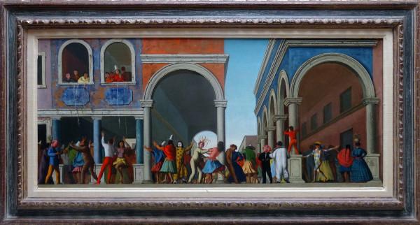0745 - Venice Carnival by Aldo Pagliacci (1913-1991)