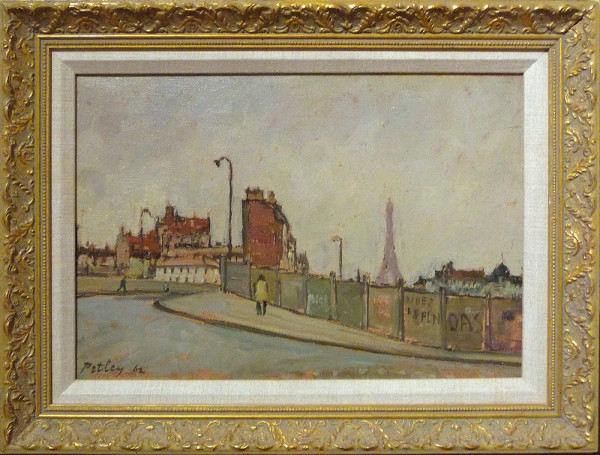 0236 - Paris Street by Llewellyn Petley-Jones (1908-1986)