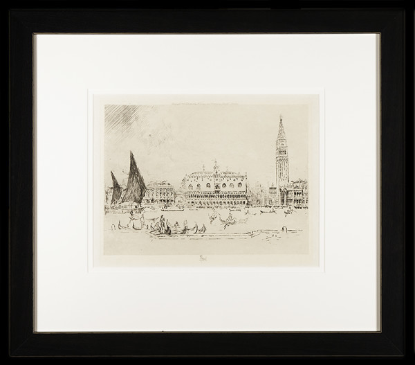 2922 - The Doge's Palace, Venice (1883) by Joseph Pennell (1858/60-1926)