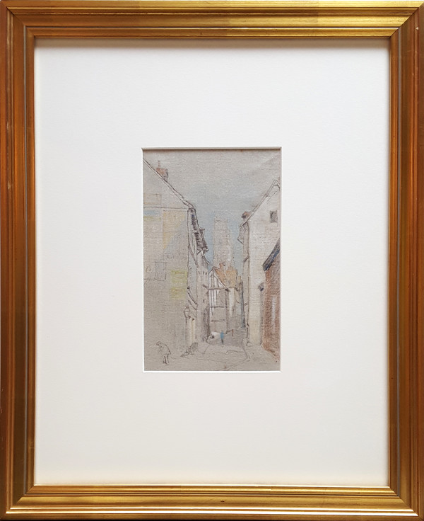 2497 - Street Sketch by Joseph Pennell (1858/60-1926)