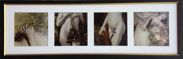 2764 - Nude Quadriptych by Unknown