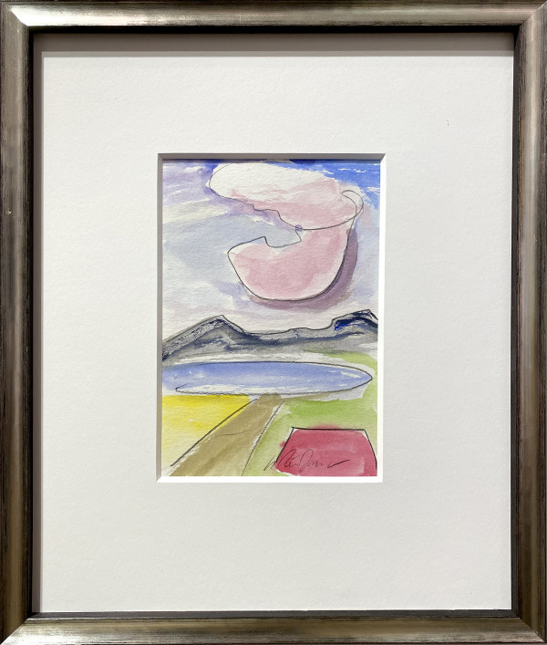3036 - Pink Cloud by Matt Petley-Jones