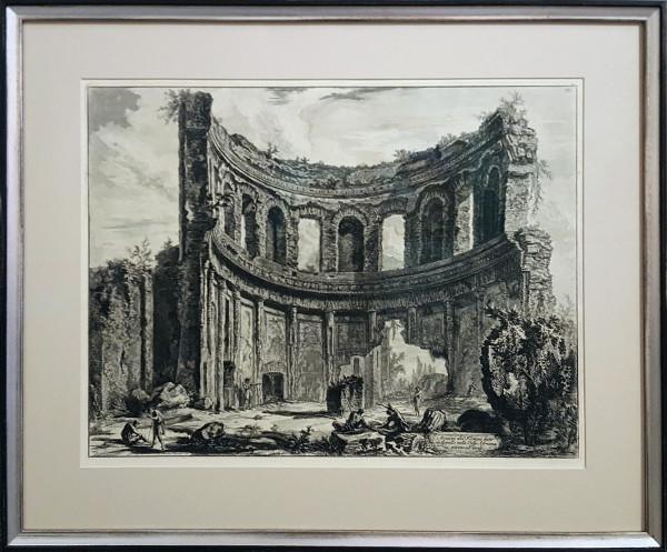 2100 - Avanzi del Tempio detto edi Appolllo nella Villa Andriana Vicino a Tivoli by Giovanni Battista Piranesi (1720-1778)