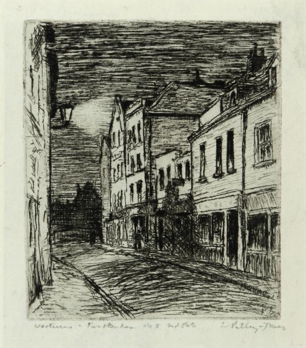 2931 - Nocturne by Llewellyn Petley-Jones (1908-1986)