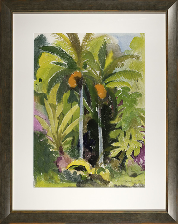 2961 - Coco Trees by Richard Ciccimarra (1924-1973)