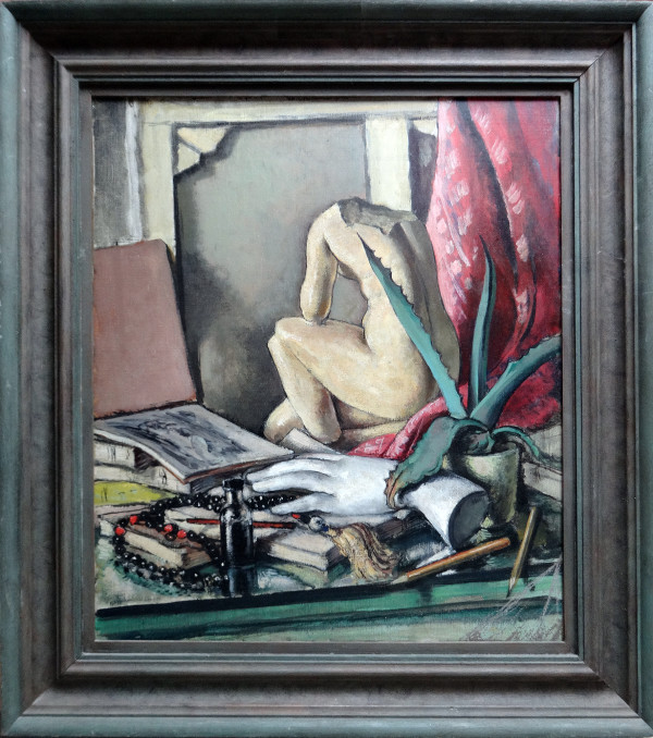 0119 - Still Life with broken sculpture