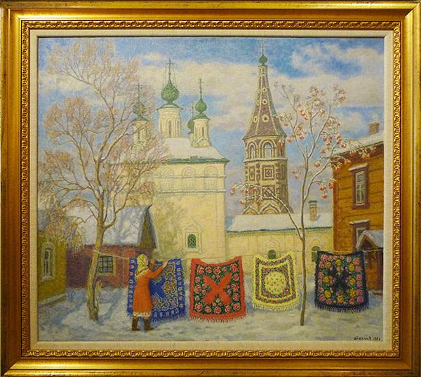 0122 - Russian Shawls