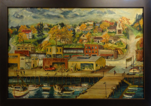 0125 - Puget Sound by Charles Trumbo Henry (1902-1964)