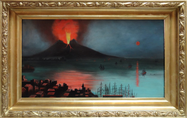 0150 - Mount Vesuvius by Artist Unknown