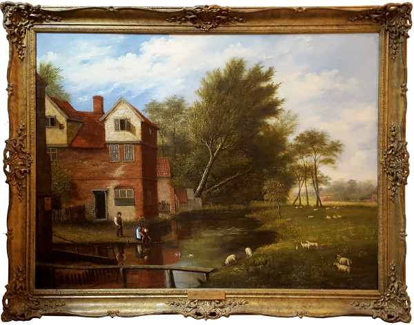 0319 - Fuller's Hole by Alfred Stannard (1806-1889)