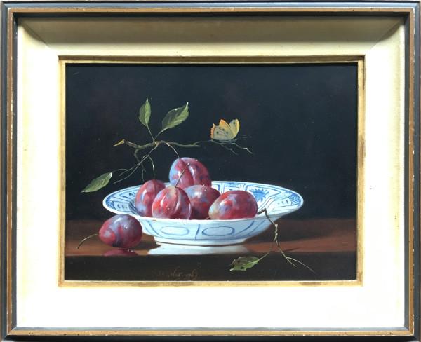 0619 - Plums by J.F.J  Nagtegaal (1920 - 2000 )