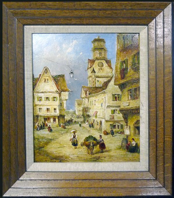 0027 - European Street Scene by A. Culia