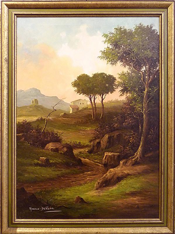 0028 - Paesaggio by Angelo De Rossi