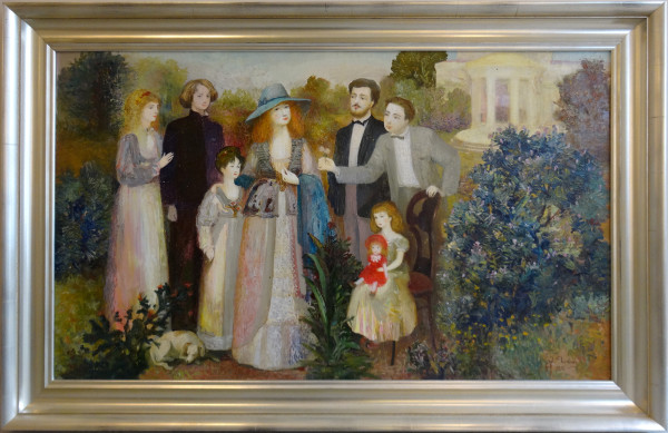 0038 - Family Portrait by Unknown