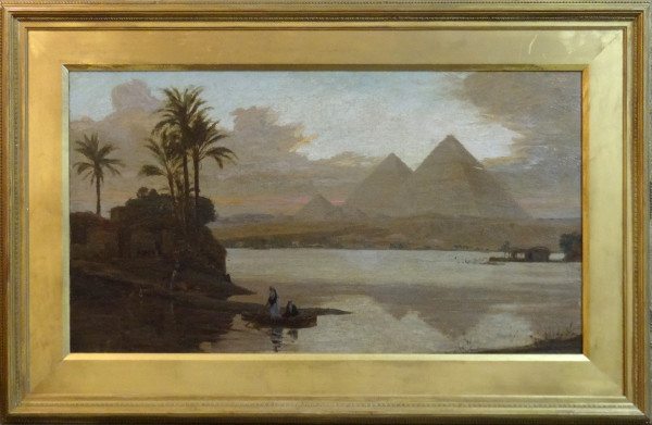 0045 - Pyramids by Philip T. Gilchrist (1865-1956)