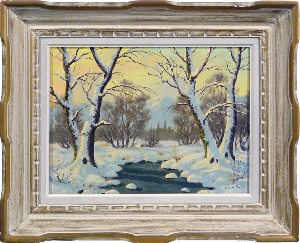 0057 - Hungarian Landscape, 1928 by Imre