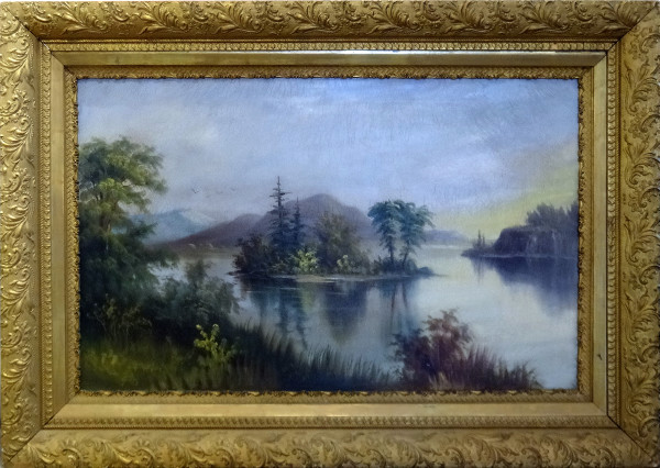 0073 - Landscape with Island