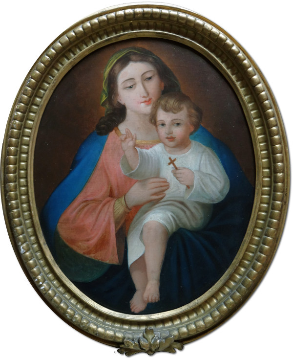 0080 - Madonna and Child by Artist Unknown