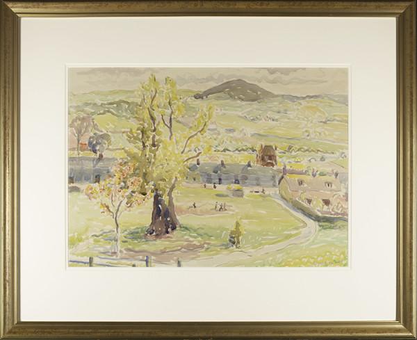 2706 - Yellow Tree by Claude Flight (1881-1955)