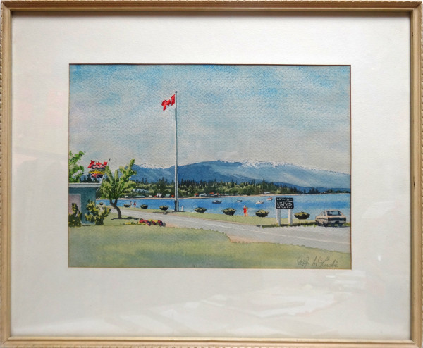2153 - Qualicum Beach May Day by William G. McLuckie
