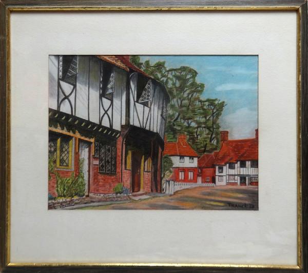 2025 - Tudor Houses by Albert Franck (1899-1973)