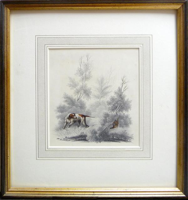2030 - Pheasant and Dog by William Gunton