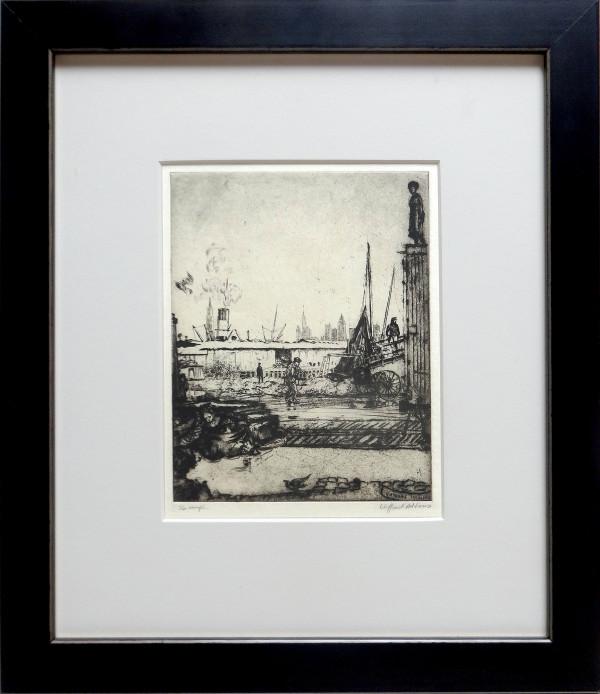 2073 - New York Shipyards by Clifford Addams (1876 – 1942)
