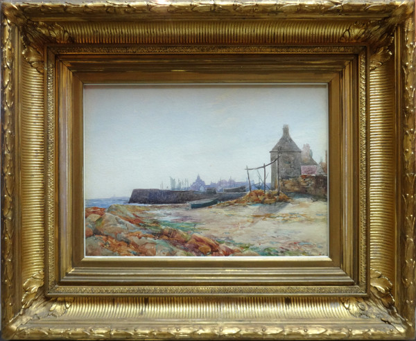 2008 - Beach Side Town by William Carlaw (1847-1889)