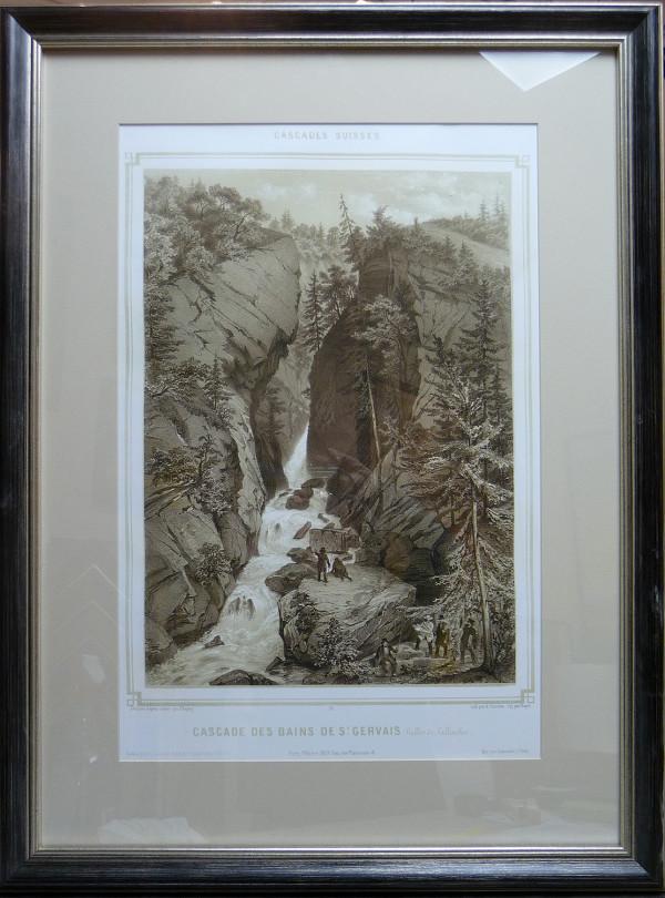 2009 - Cascades des Bains de St. Gervais by Cascades Suisses Unknown