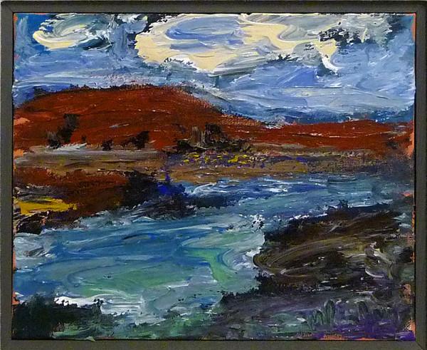 0491 - Red Hills by Matt Petley-Jones