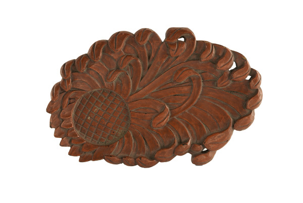 5014 - Red Wood Carving