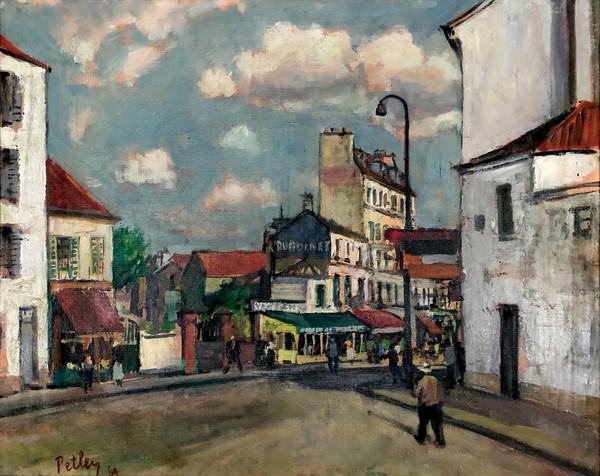 0818 - Road in Versailles by Llewellyn Petley-Jones (1908-1986)