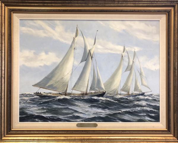 0390 - Sailing Ships by Robert McVittie (1935 - 2002)