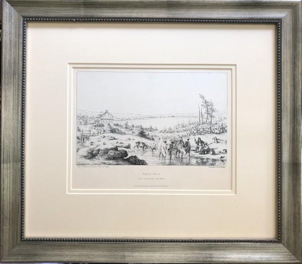 2248 - Bedford Basin by Robert Petley ( 1812 - 1869)