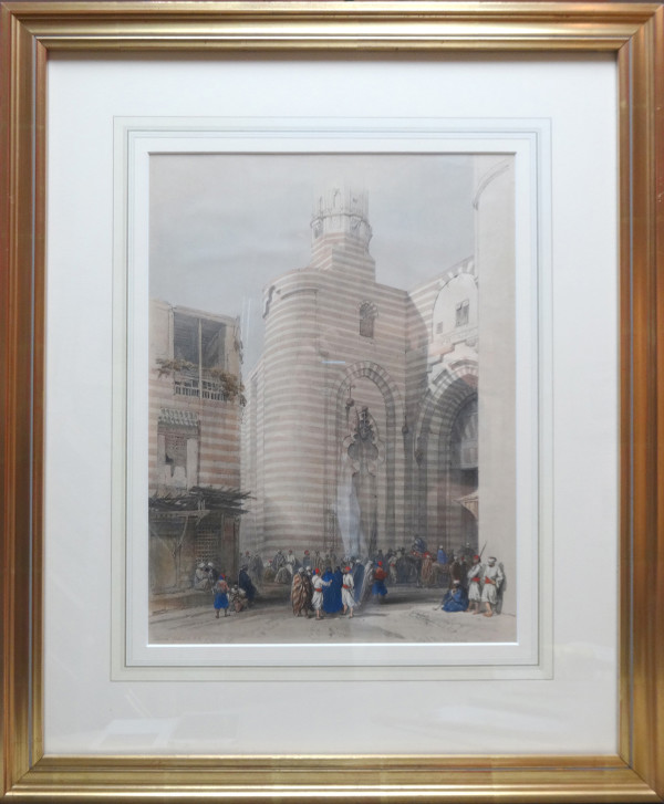 2510 - Gate of the Metwaleys, Cairo by David Roberts (1796-1864)