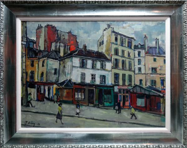 0246 - Rue de la Montagne Sainte Geneviève by Llewellyn Petley-Jones (1908-1986)