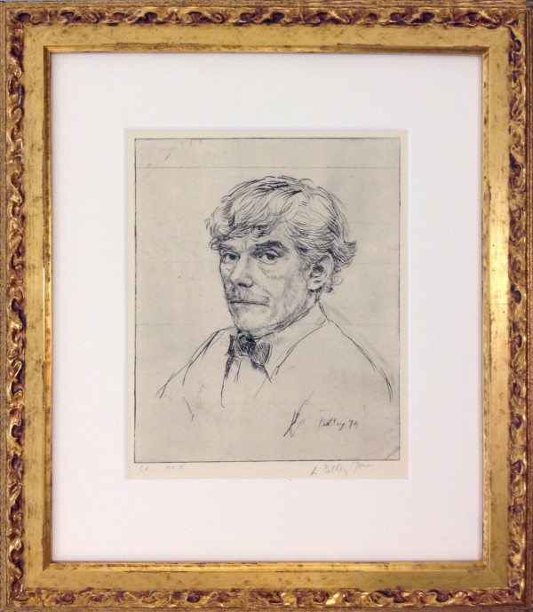 2516 - Untitled (Self Portrait - No.5) by Llewellyn Petley-Jones (1908-1986)