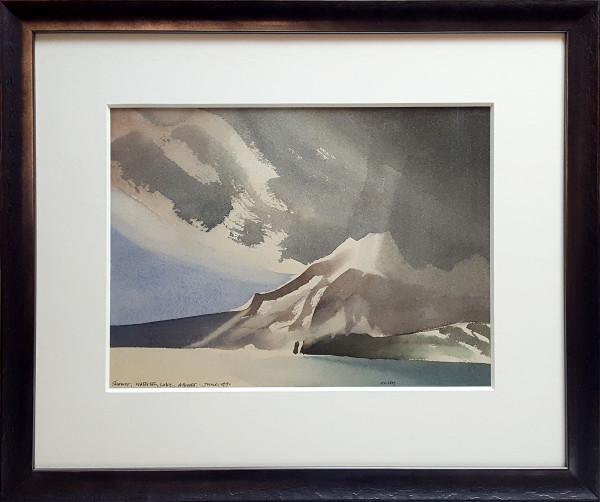 Shower, Waterton Lake by Toni Onley (1928-2004)