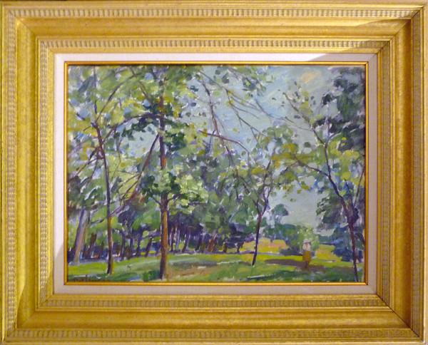 0251 - Spring, Richmond 1977 by Llewellyn Petley-Jones (1908-1986)