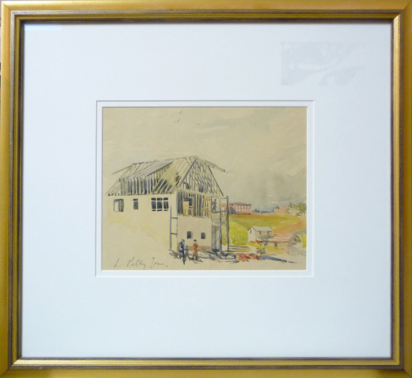 2355 - Study a New House by Llewellyn Petley-Jones (1908-1986)