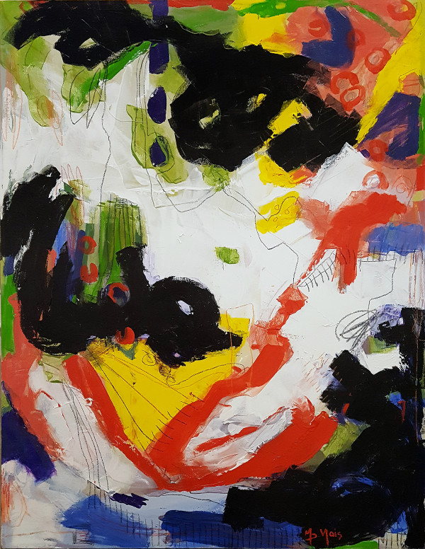 0655 - Study #4, by Marie-Doris Valois