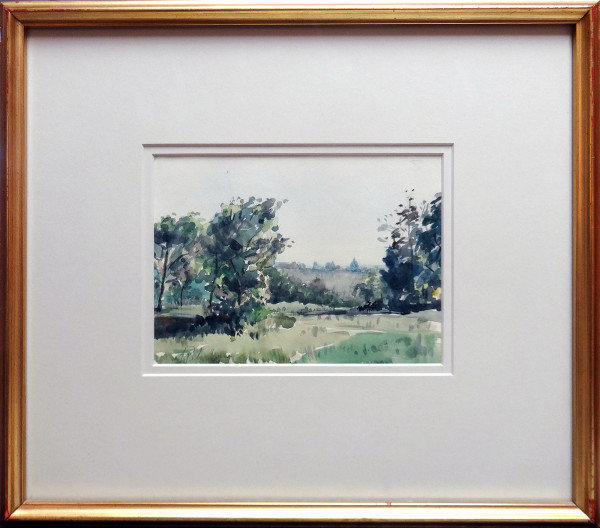 2357 - Study of Early Morning, Edmonton by Llewellyn Petley-Jones (1908-1986)