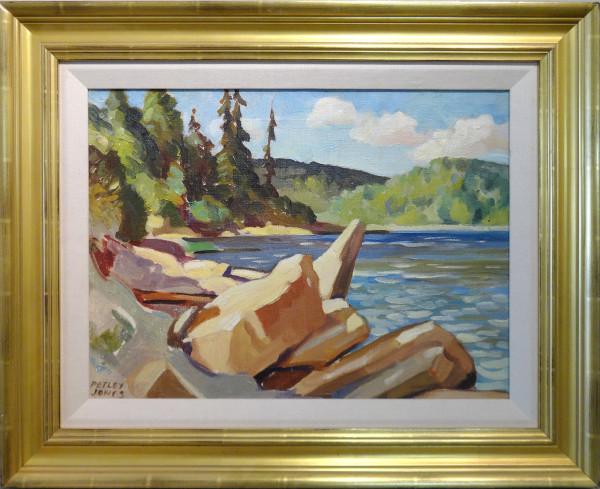 0255 - Sturgeon River, Alberta by Llewellyn Petley-Jones (1908-1986)