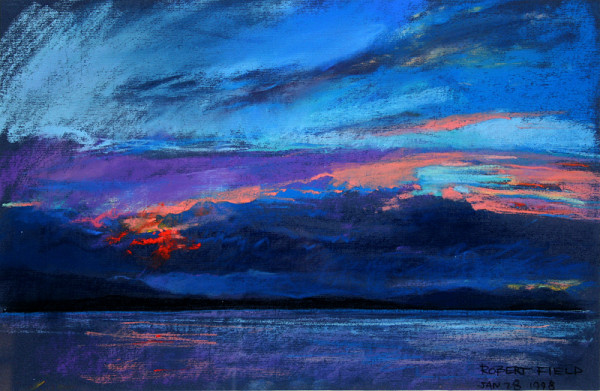 2478 - Sunset - Broughton Straight by Robert Field