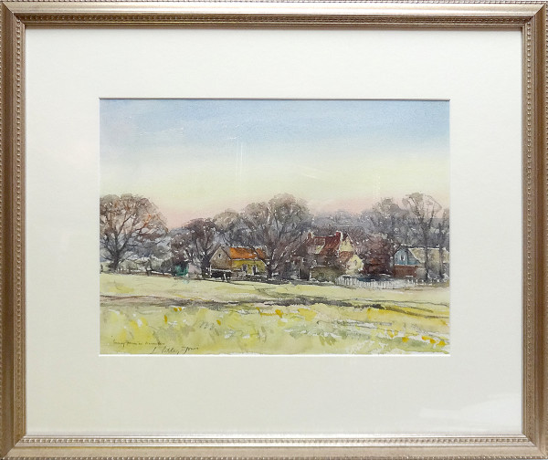 2403 - Surrey Farm in December by Llewellyn Petley-Jones (1908-1986)
