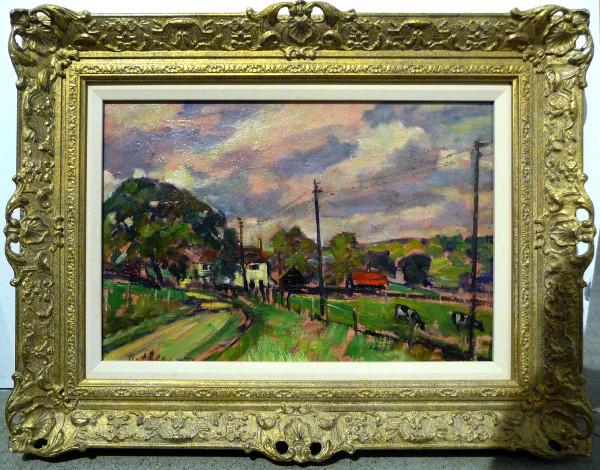 0289 - Surrey Farm by Llewellyn Petley-Jones (1908-1986)