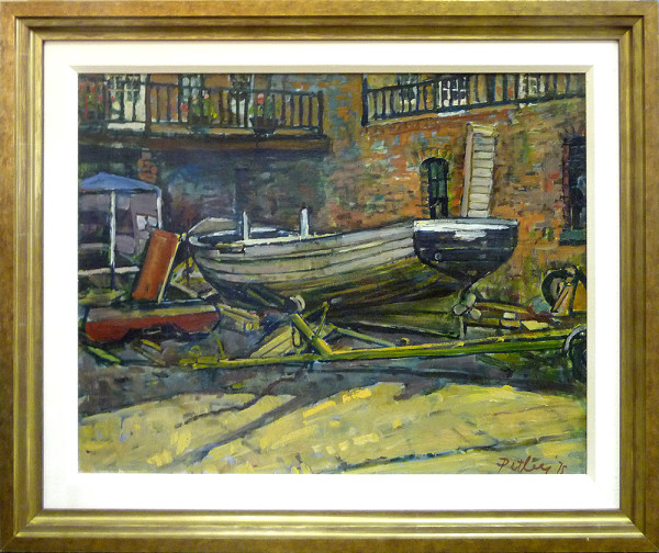 0288 - The boat house by Llewellyn Petley-Jones (1908-1986)
