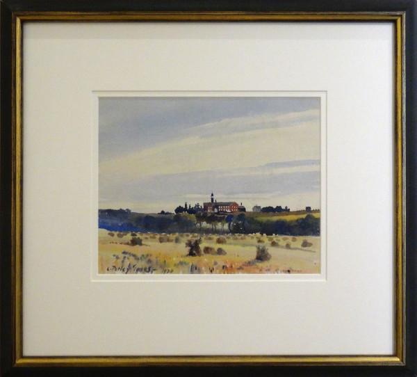 2362 - The Monastery on the Hill by Llewellyn Petley-Jones (1908-1986)